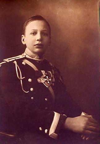 Prince Igor Constantinovich de Russie 1894-1918
