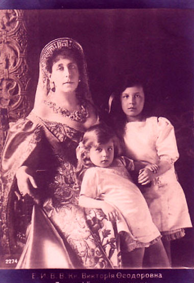 Grande-duchesse Viktoria Feodorovna de Russie