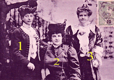 Alexandra d'Angleterre chez les reines de Portugal